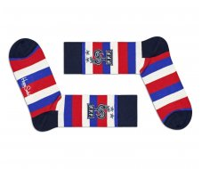 Chaussette collection FFF rayures