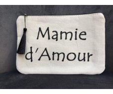 Pochette mamie d'amour noir