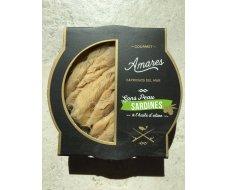 Sardines sans peau à l'huile d'olive