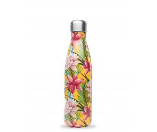 Bouteille isotherme Tropical jaune 500ml