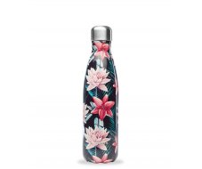 Bouteille isotherme Tropical Noir 500ml