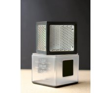 Cube Microplane 3 râpes, noir