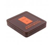 Boite métal 18 mini-tablettes assortiment chocolat