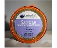 Terrine de Sandre, thym et cardamome