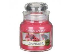 Roseberry sorbet